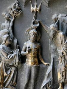 Jesus's Baptism, Duomo, Florence, Tuscany, Italy, Europe by Godong