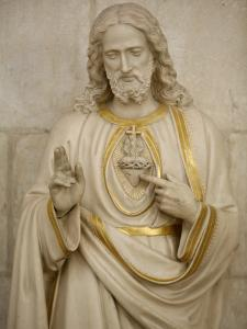 Jesus's Sacred Heart, Auxerre, Yonne, Burgundy, France, Europe by Godong