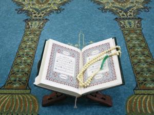 Koran and Prayer Beads, Lyon, Rhone, France, Europe by Godong