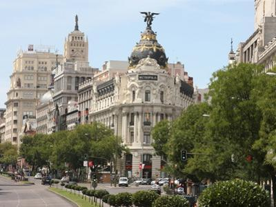 Metropolis Building, Madrid, Spain, Europe by Godong