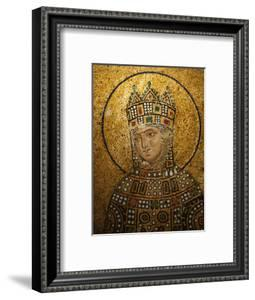 Mosaic of Empress Zoe, Hagia Sophia, Istanbul, Turkey, Europe by Godong