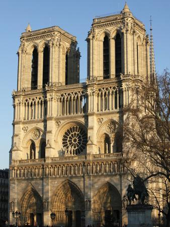 Notre-Dame de Paris Cathedral, Paris, France, Europe by Godong