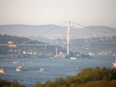 Overview of the Bosphorus, Istanbul, Turkey, Europe by Godong