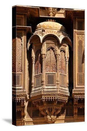Patwa Havelis, Renowned Private Mansion in Jaisalmer, Rajasthan, India, Asia