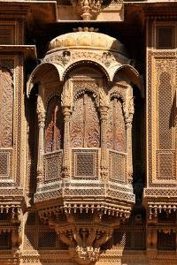 Patwa Havelis, Renowned Private Mansion in Jaisalmer, Rajasthan, India, Asia by Godong