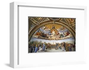 Raphael's Rooms, Disputation of the Holy Sacrament, Vatican Museum, Rome, Lazio by Godong