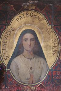 Sainte Genevieve de Paris, St. Germain l'Auxerrois Church, Paris, France, Europe by Godong