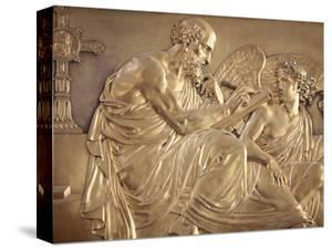 Sculpture Depicting St. Matthew, Saint-Louis Des Invalides Church, Paris, France, Europe by Godong