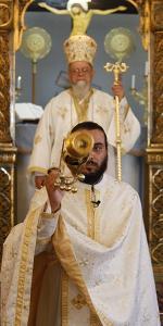 Sunday Mass in Haifa Melkite Cathedral, Haifa by Godong