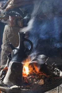 Traditional coffee ceremony in Ethiopia by Godong