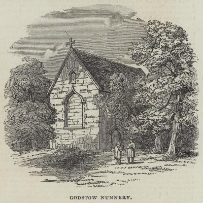 Godstow Nunnery--Giclee Print