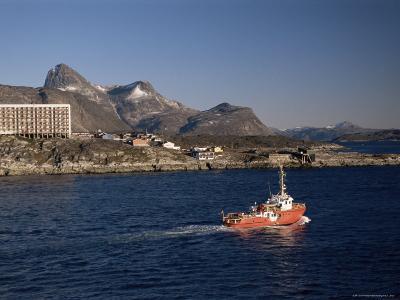 Godthabsfjord, Nuuk, Greenland, Polar Regions-Gavin Hellier-Photographic Print