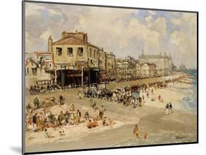 Punch and Judy Show, Hastings by Godwin Bennett