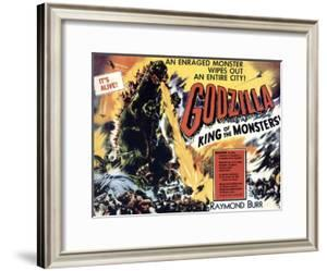 Godzilla, King of the Monsters, UK Movie Poster, 1956