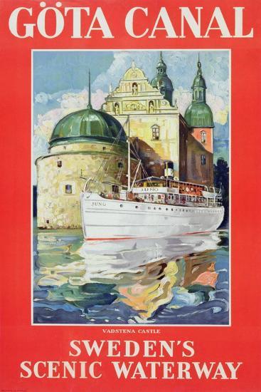 Göta Canal, C.1938--Giclee Print