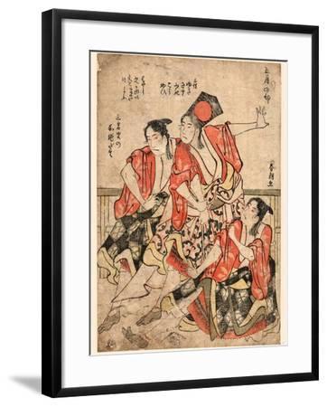Gogatsu No Bu-Katsushika Hokusai-Framed Giclee Print