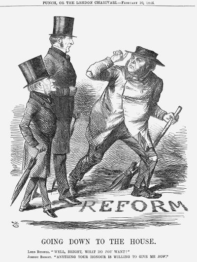 Going Down to the House, 1866-John Tenniel-Giclee Print