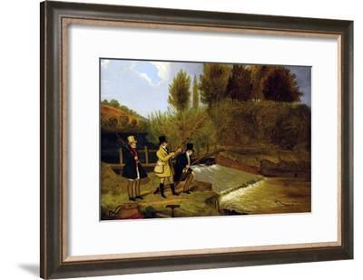 Going Fishing-James Pollard-Framed Art Print