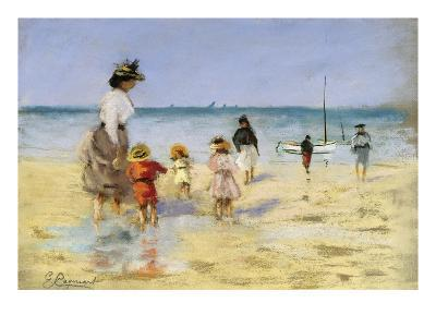 Going for a Paddle-Emile Cagniart-Giclee Print