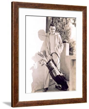 Going Golfing--Framed Photo