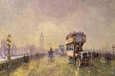 Going Home, Westminster Bridge-John Sutton-Giclee Print