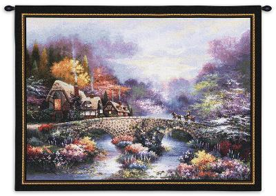Going Home-James Lee-Wall Tapestry