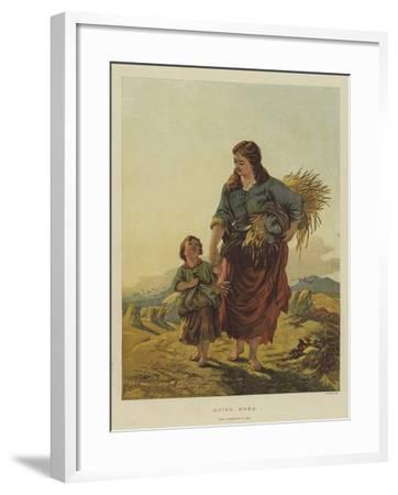 Going Home--Framed Giclee Print