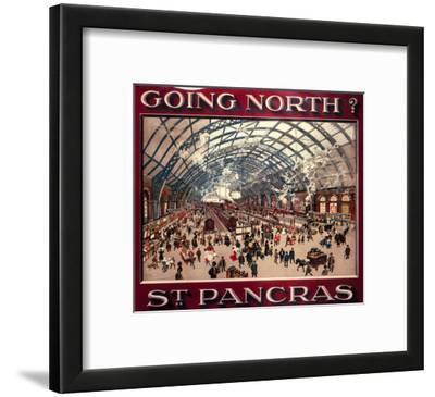 Going North? St. Pancras, MR, c.1910