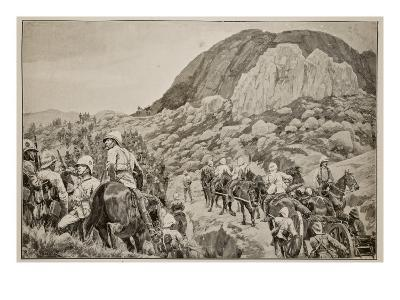 Going Out to the Attack on Spion Kop on January 24Th-Richard Caton Woodville-Giclee Print