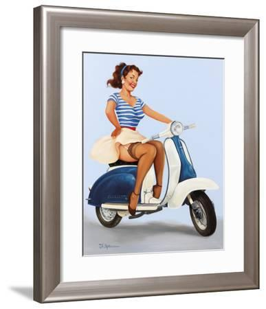 Going Places!-Fiona Stephenson-Framed Giclee Print