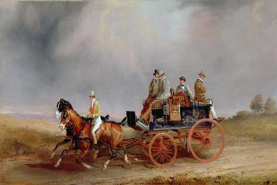 Going Shooting; a Postillion and Pair with a Game Cart-Charles Cooper Henderson-Giclee Print
