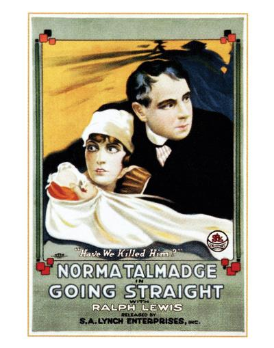 Going Straight - 1916--Giclee Print