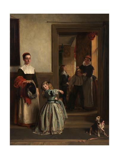 Going to a Party, 1866-John Callcott Horsley-Giclee Print