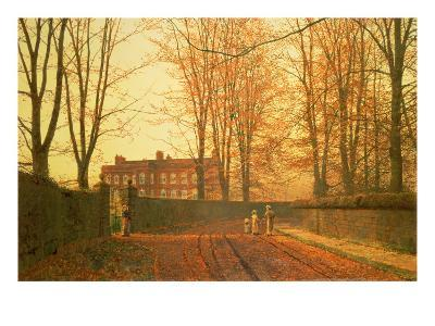 Going to Church, 1880-Grimshaw-Giclee Print
