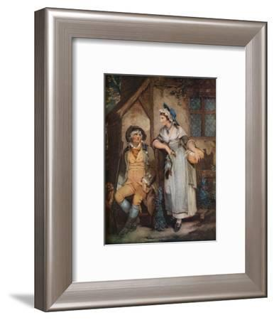 Going to Market, 18th century, (1924)-William Nutter-Framed Giclee Print