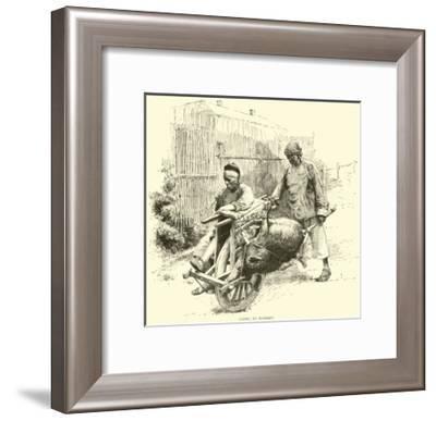 Going to Market--Framed Giclee Print