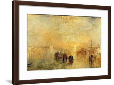 Going to the Ball (San Martino), 1846-J^ M^ W^ Turner-Framed Giclee Print