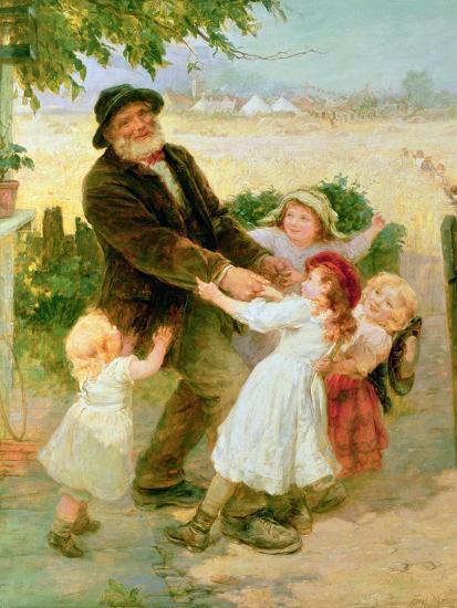Going to the Fair-Frederick Morgan-Giclee Print