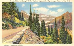 Going-to-the-Sun Highway, Glacier Park, Montana