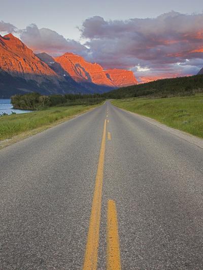 Going-To-The-Sun Road, Glacier National Park, Montana, USA-Charles Gurche-Photographic Print