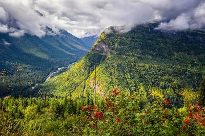 Going to the Sun Road-Dean Fikar-Photographic Print