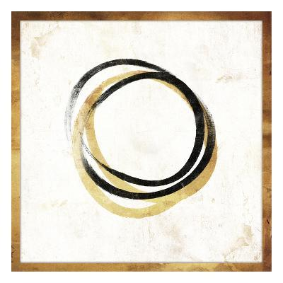 Gold Abstract II-Jace Grey-Art Print