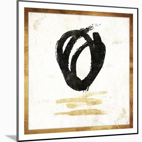 Gold Abstract-Jace Grey-Mounted Art Print