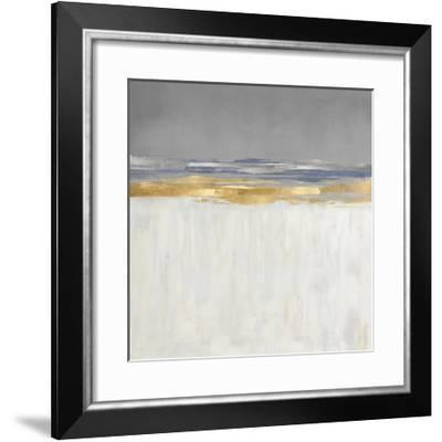 Gold and Silver Horizon I-Jake Messina-Framed Giclee Print