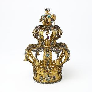 Gold and Silver Torah Crown