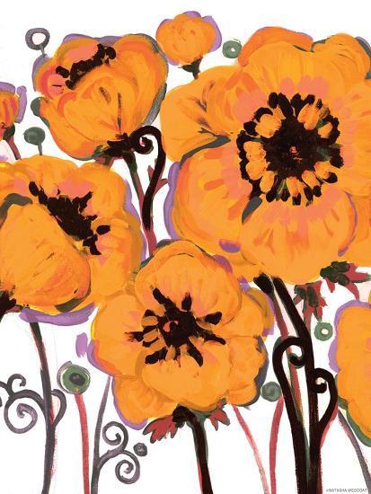 Gold Anemone-Natasha Wescoat-Giclee Print