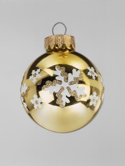 Gold Bauble--Photographic Print