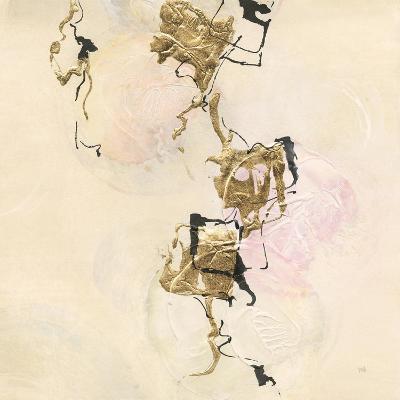 Gold Blocks on Pastel II-Chris Paschke-Art Print