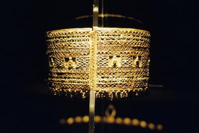 Gold Bracelet, from the Treasure of Queen Amanishakheto--Giclee Print