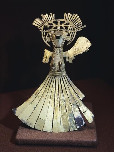 Gold Breastplate Depicting a Female Figure Ornament--Giclee Print